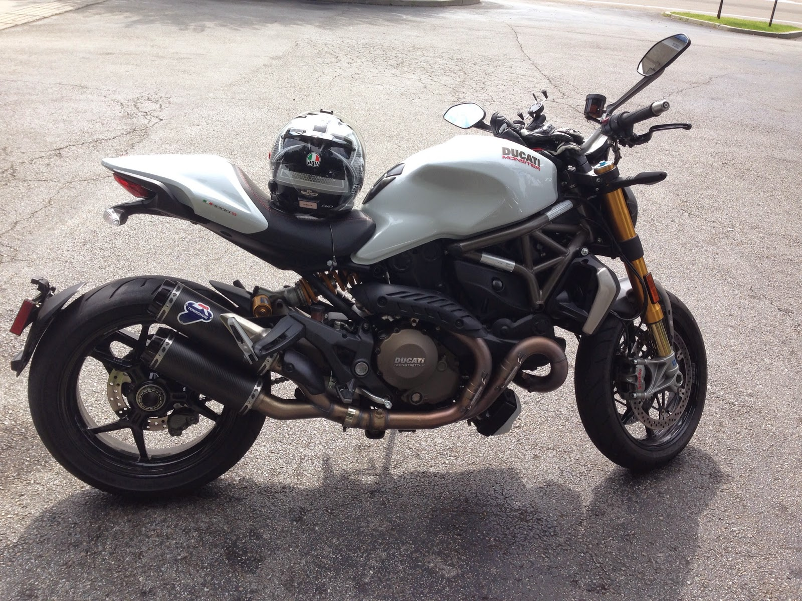 A Chance To Admire The New Ducati Monster 1200S Below Which Is Hell Of But Totally Different Design From Classic I Know