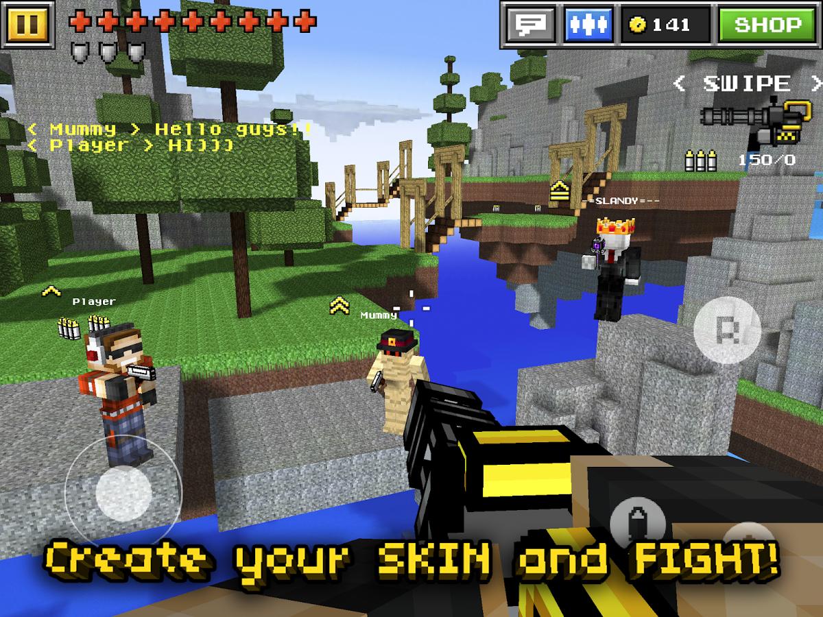 Pixel Gun 3D Skins