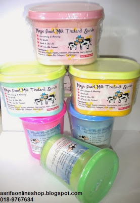 Magic Pearl Milk Thailand Scrub