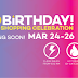 Lazada.com.ph celebrates its Third Year Anniversary with a 3-Day Shopping Extravaganza!