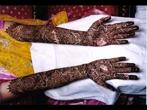 Top 5 Wedding mehandi designs
