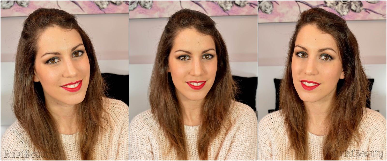 rubibeauty maquillaje navidad christmas makeup green copper verde cobre 2014