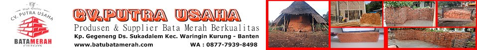 JUAL BATU BATA MURAH - CV.PUTRA USAHA [ 0877-7939-8498 ]