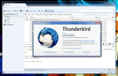 Mozilla Thunderbird 17.0 Final