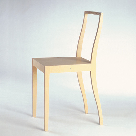 Ply chair jasper morrison 1989 eeudi1213 xxth century for Plywood chair morrison