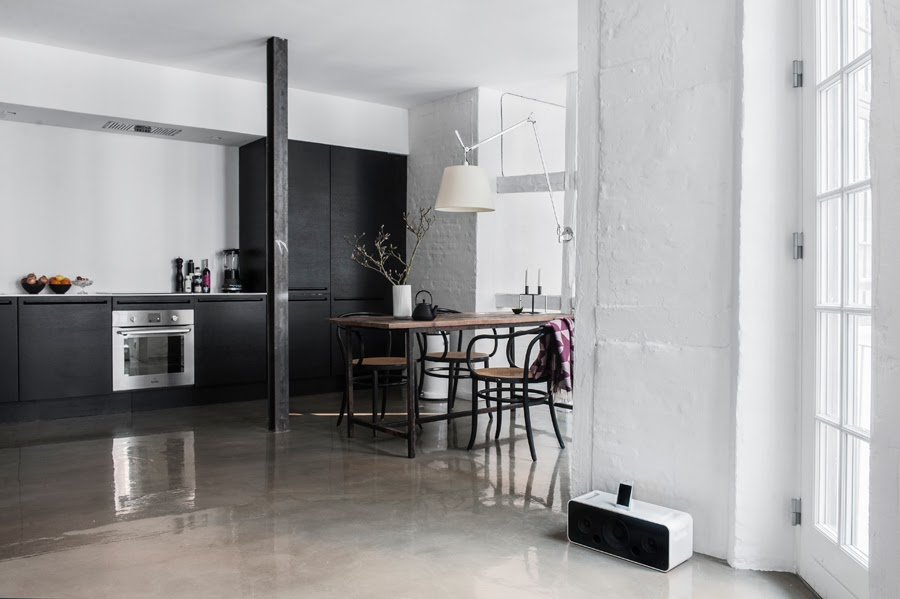 Camilla Tange Home : My scandinavian home a stunning copenhagen home with a shiny touch