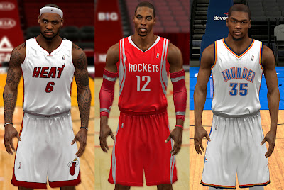NBA 2K14 Tight Jerseys Mod