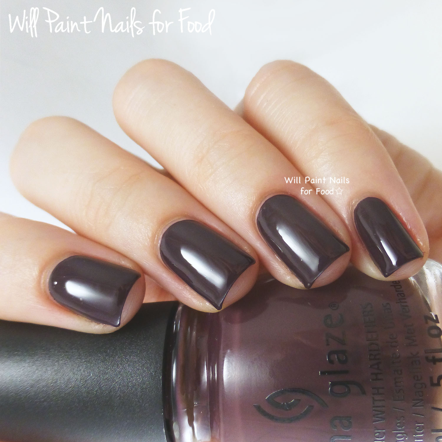 China Glaze What Are You A-Freight Of? swatch
