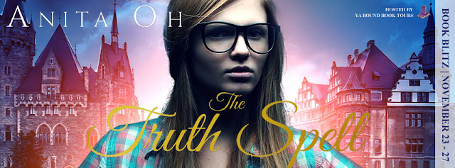 {Interview+Giveaway} The Truth Spell by Anita Oh