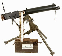 Vickers medium machine gun MMG