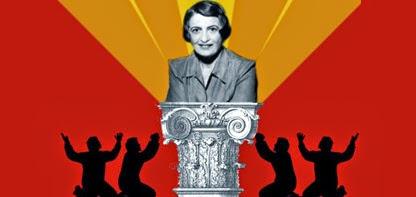 Ayn Rand: cómo convertir a los freaks en una cuadrilla de gilipollas
