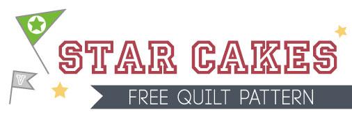 Fat Quarter Shop S Jolly Jabber Star Cakes Free Quilt