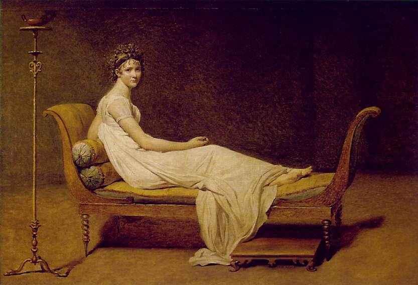 Madame Recamier.  1800