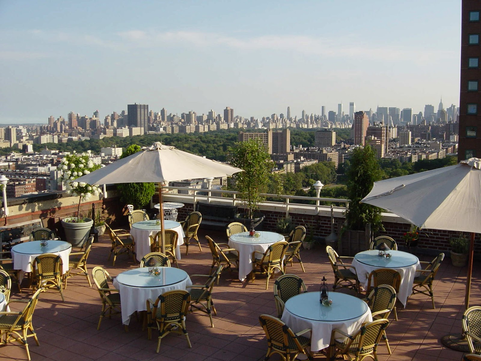 Sonal j shah event consultants llc nyc rooftop venues for Hotels on the terrace