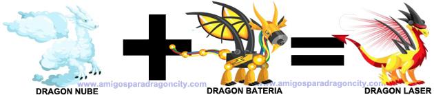 como sacar el dragon laser en dragon city combinacion 1