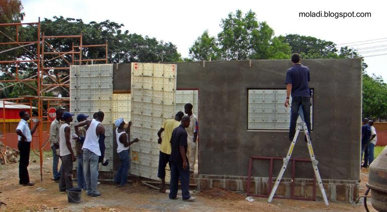 Arquitectura de casas de c mo hacer casas baratas - Materiales de construccion baratos ...