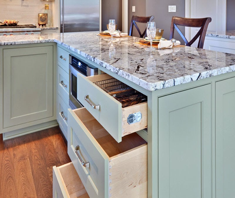 Duck Egg Green Kitchen Tiles: Simplifying Remodeling: What Goes With Granite Counters?