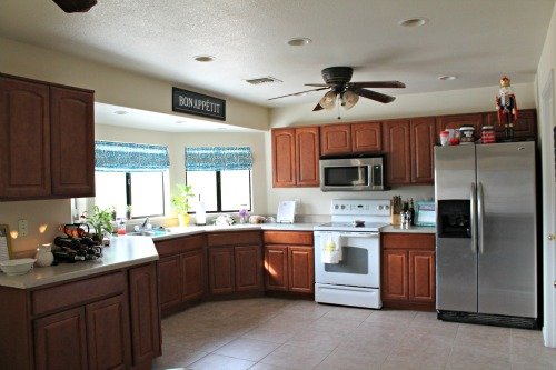 How-to-decorate-my-kitchen & Eventually I Replaced The Microwave And ...