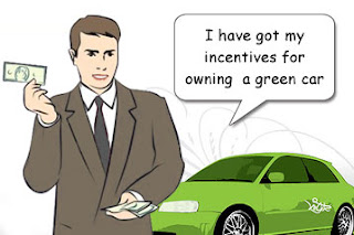 Owing Green cars