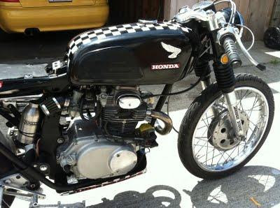 Honda CB175 Cafe Racer 1972 The Seller Of This Bike Has Built An AHRMA Race Legal Motorcycle But Kept Lights And License Plate