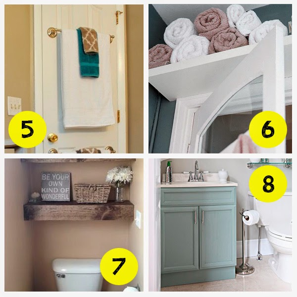 Small and low cost ba os decorar tu casa es for Mueble encima wc