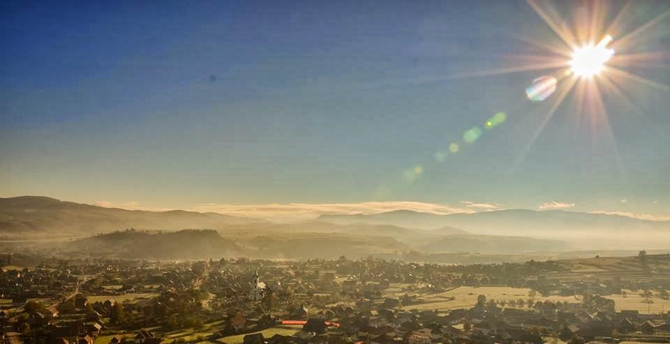Dimineațăde octombrie 2013.Foto: Claudiu Mureșan