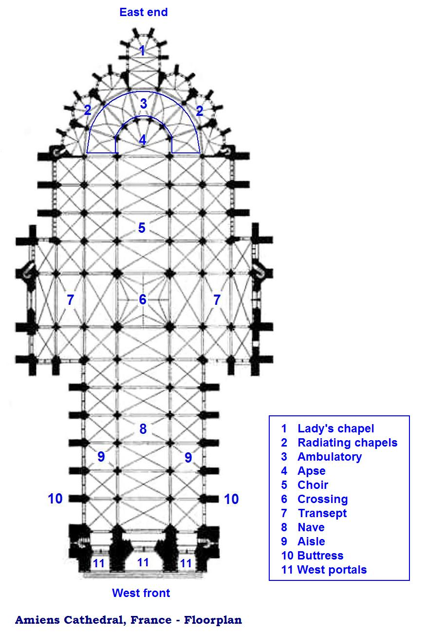 amiens cathedral floor plan bing images. Black Bedroom Furniture Sets. Home Design Ideas