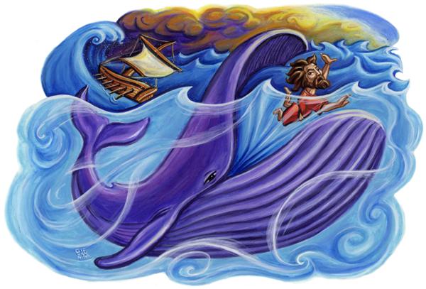 Bible Event : Jonah Inside the Big Fish