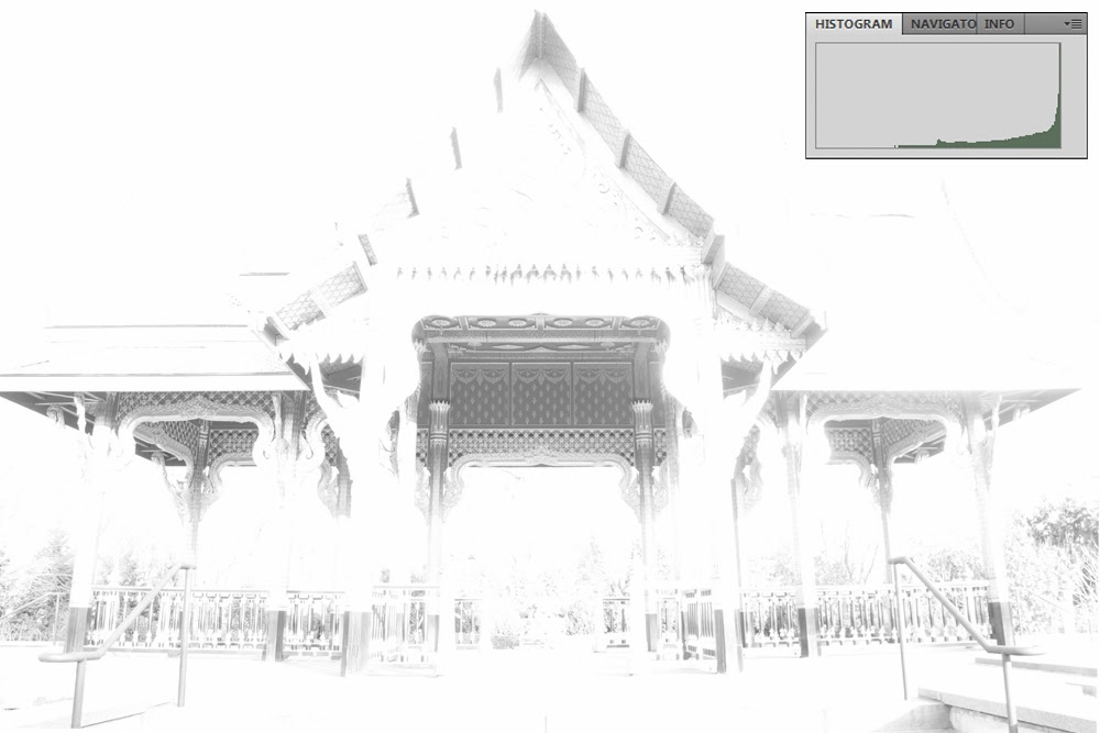 High Key Overexposed Photograph of Thai Temple | Boost Your Photography