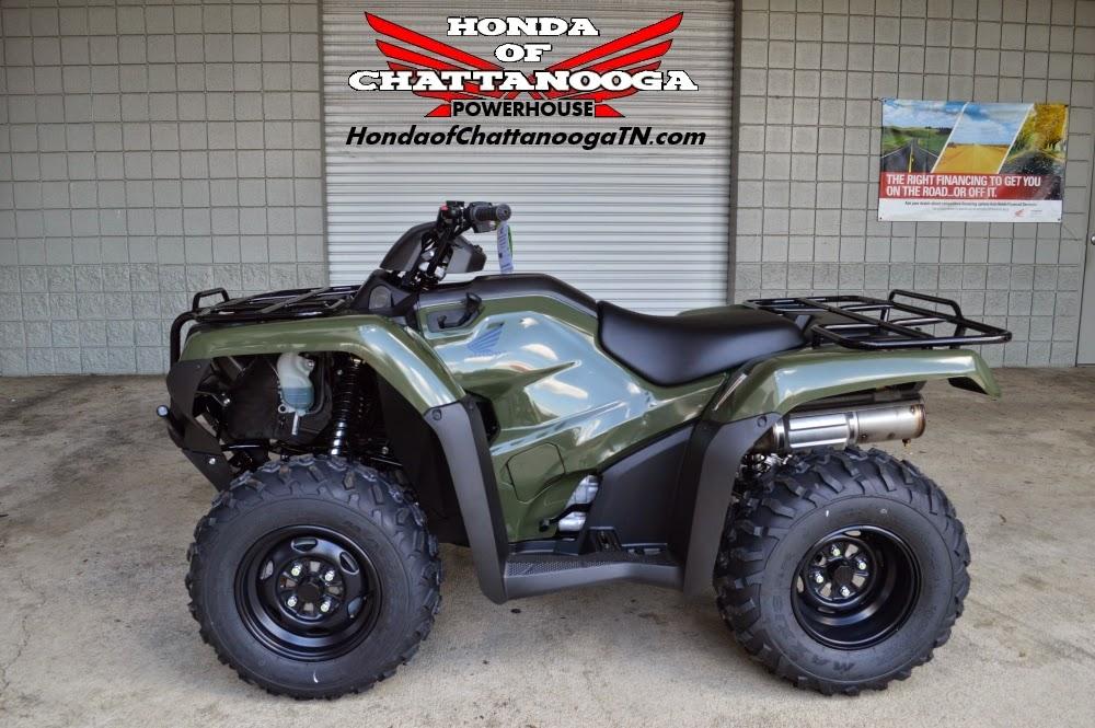 2015 Honda ATV / Four Wheeler Model Lineup | Honda of Chattanooga
