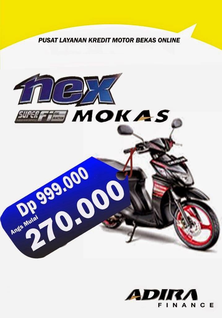 Promo Kredit Motor Bekas Blitar Online - Suzuki Nex Lebih Irit bisa potong Tenor