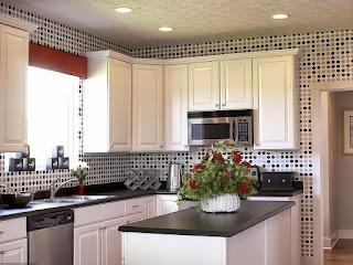 cara merancang dapur yang minimalis