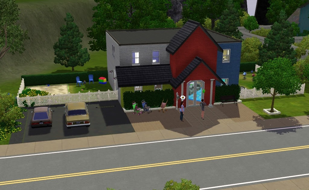 my sims 3 blog waters family daycare sisters included