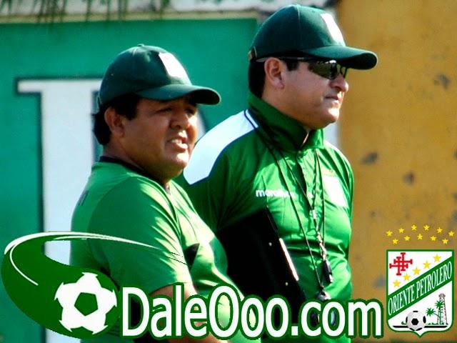 Oriente Petrolero - Eduardo Villegas Jaime Jemio - DaleOoo.com web del Club Oriente Petrolero