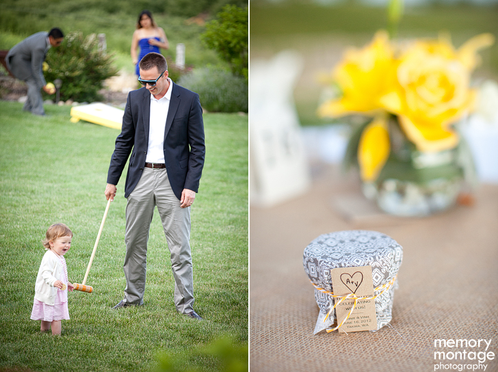 yellow and grey yakima wedding photography fontaine estates naches