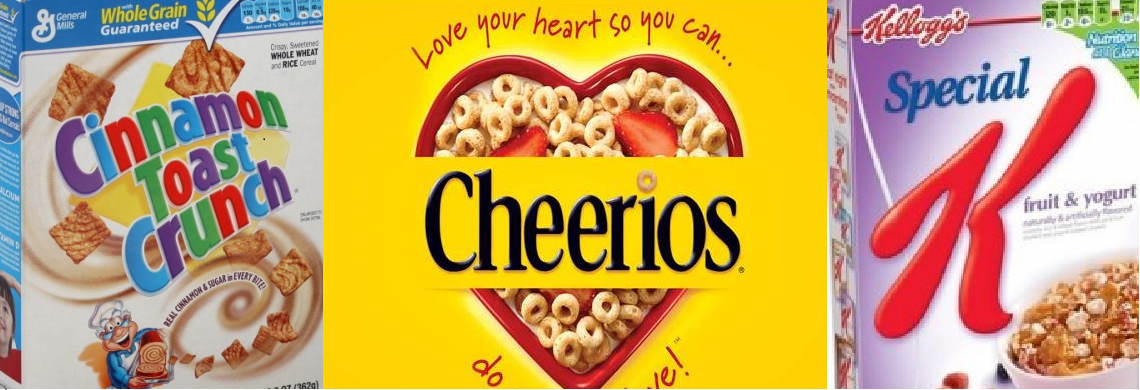 Come Aboard The Education Train Healthy Vs Unhealthy Cereals