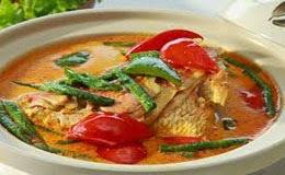 Resep Praktis masakan khas padang Gulai kepala Ikan kakap