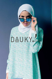 Model 1. Hijab Modern Dauky Terbaru image