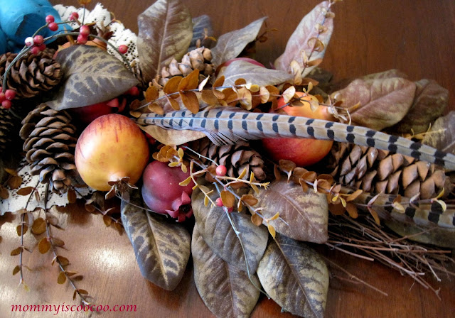 Decorate a Fall Table