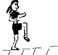 Practice good posture running