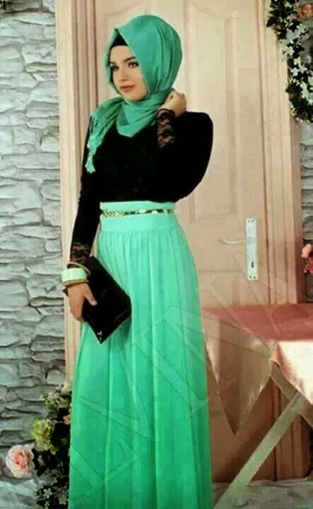 Hijab vert