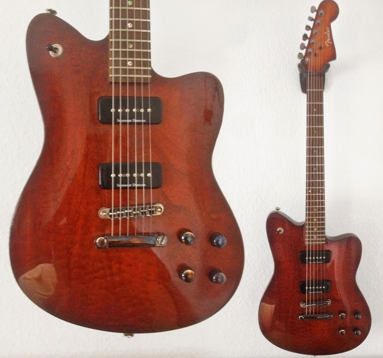 Mahogany fender toronado guitars for musicians with its natural finish on mahogany and minimal gear this mid 2000s fender toronado makes me think of these stern but desirable japanese guitars from the sciox Choice Image