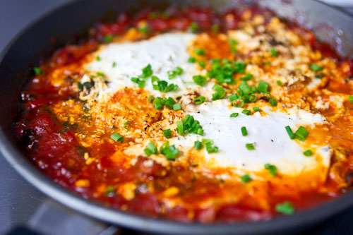 yeah..!!! Eggs Baked in tomato sauce , you guys must have tried this ...