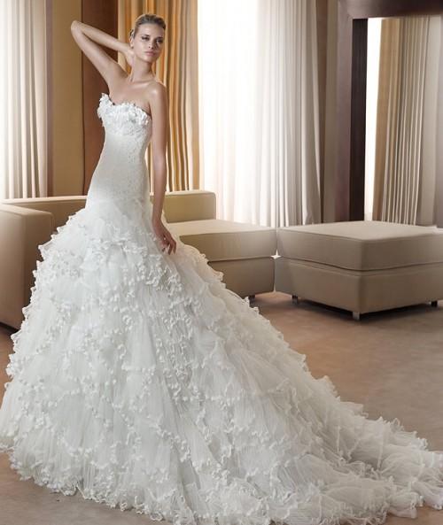 Vestidos para bodas color blanco