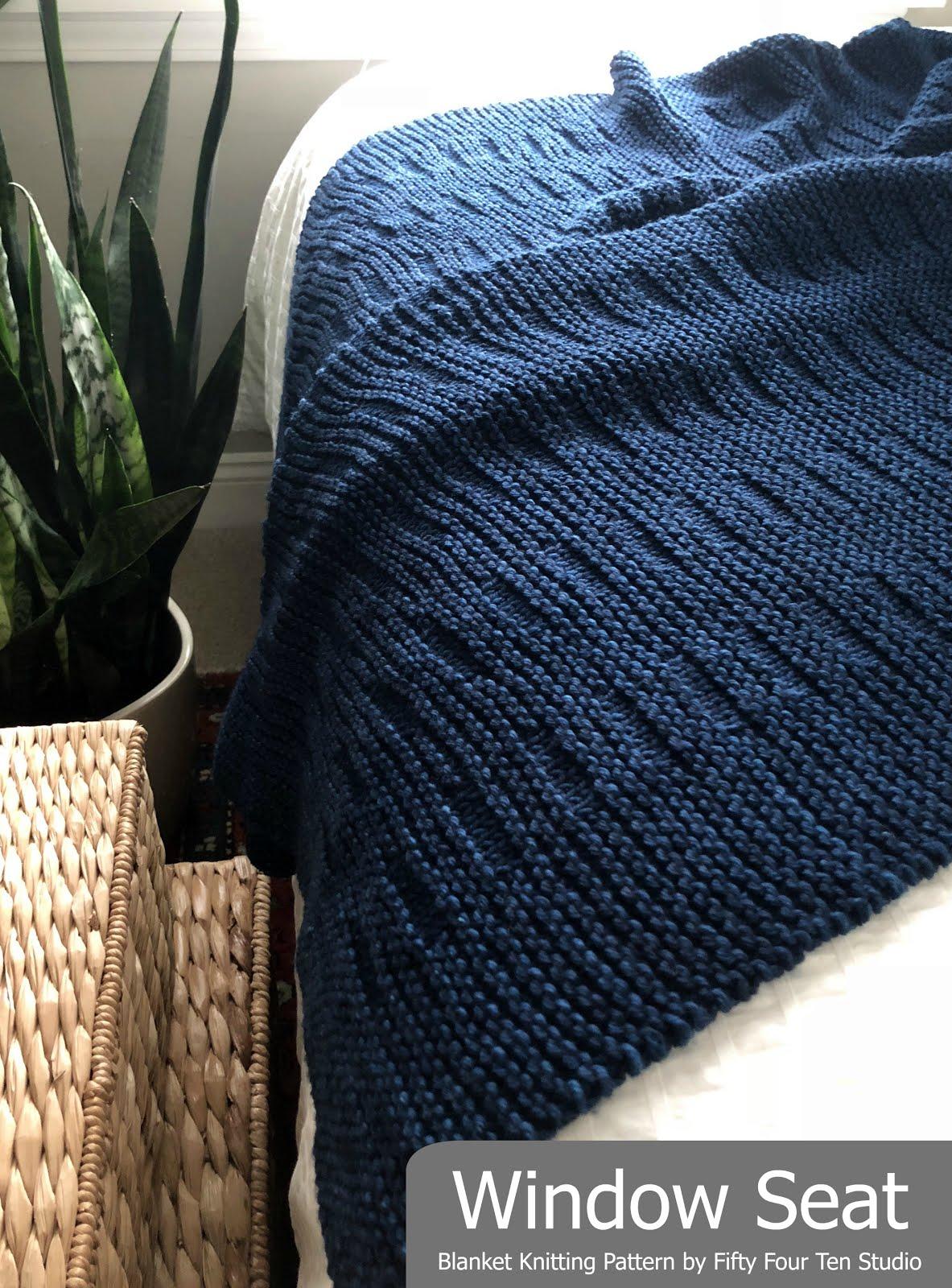 Window Seat Blanket