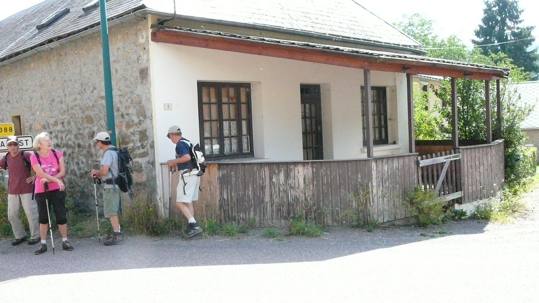 Les randonneurs du mercredi rando sur la voie du tacot for Auberge maison gauthier