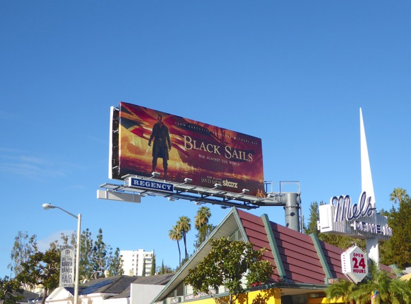 Black Sails season 3 billboard