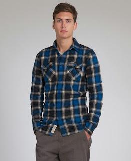 New Mens Superdry Lumberjack Brush Shirt AA