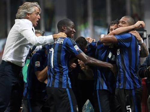 Internazionale 1 x 0 Atalanta - Campeonato Italiano(Calcio) 2015/16