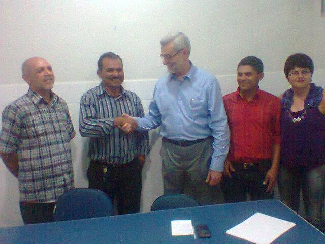 Encontro com o deputado Pedro Eugenio
